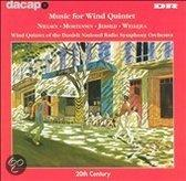 MUSIC FOR WIND QUINTET & WELLEJUS/W/WIND OF TEH DANISH NAT.R.S.O