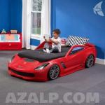 Step2 Corvette Toddler Tot Twin Bed 860000