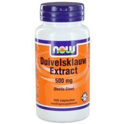 Duivelsklauw Extract 500mg 100 Capsules