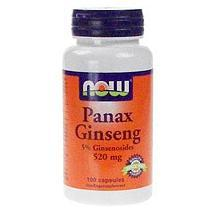 Panax Ginseng 500 Mg NOW Foods 100 Capsules