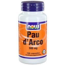 Now Pau D Arco 500mg