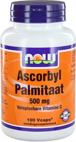 Ascorbyl Palmitaat 500 Mg 100 Veggie Caps - Now Foods