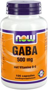 Now Gaba 500mg