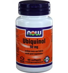 Now Ubiquinol 50 Mg Trio 3x 60sft