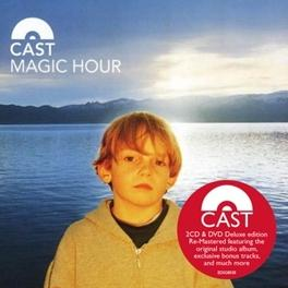 MAGIC HOUR -CD+DVD- DELUXE 2CD + DVD EDITION. CAST CD