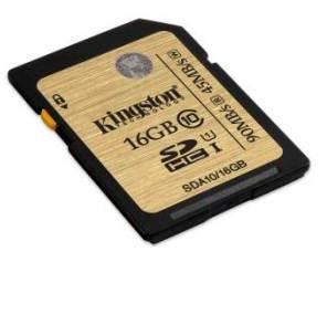 Kingston Technology SDHC/SDXC Class 10 UHS-I 16GB SDA10/16GB