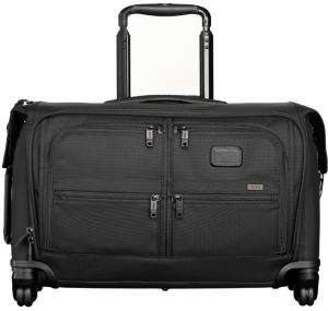 Tumi Alpha 2 Business/Travel Carry-On 4 Wheel Garment Bag Black