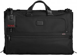 Tumi Alpha 2 Business/Travel Tri-Fold Carry-On Garment Bag Black