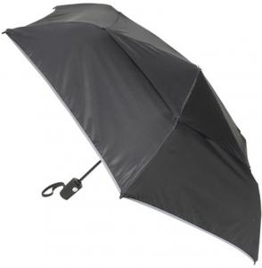 Tumi Umbrellas Medium Automatic Close Black Storm Paraplu