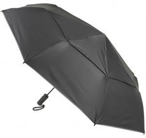 Tumi Umbrellas Large Automatic Close Black Storm Paraplu