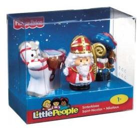 Sint En Piet Paard Little People (0746775166168)