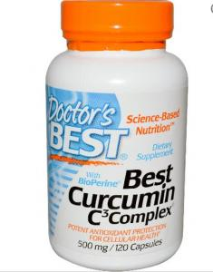 High Absorption Curcumin From Turmeric Root - 120 Capsules Docto
