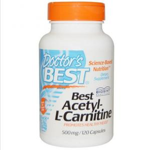 Best Acetyl-L-Carnitine 500 Mg 120 Capsules - Doctor