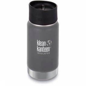 Klean Kanteen Isolatiefles 12oz Wide Vacuum Insulated W/caf Cap
