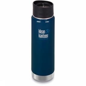 Klean Kanteen Isolatiefles 20oz Wide Vacuum Insulated Caf Cap 2.