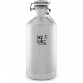 Klean Kanteen Isolatiefles Vacuum Insulated Growler 64oz - Grijs