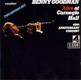 LIVE AT CARNEGIE HALL ..40TH ANNIVERSARY CONCERT. Audio CD BENNY