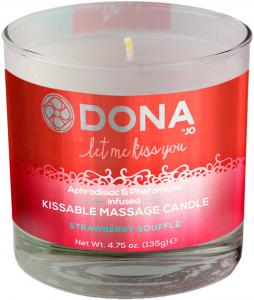 Dona Kissable Massage Candle Strawberry