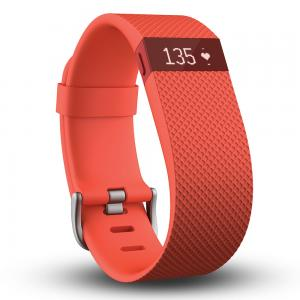 Fitbit Charge HR - Oranje L