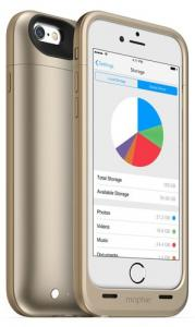 Mophie Space Pack 16 GB IPhone 5S/SE Goud