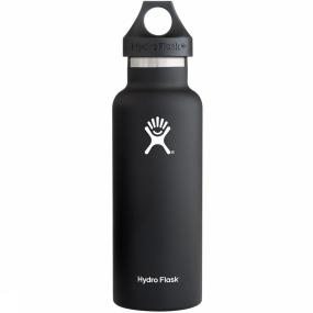 Hydro Flask Isolatiefles 530 Ml - Zwart