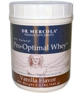 Pro-optimal Whey Vanille Smaak 540 G - Dr Mercola
