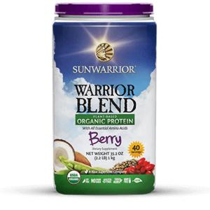 Sunwarrior Warrior Blend Organic Berry Prote 1 KG