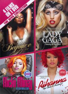 DIVA COLLECTION 4 FILMS ON 1 DVD. DOCUMENTARY DVDNL