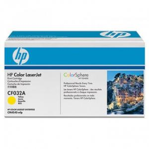 HP Toner/CF032A Yellow Print Cartridge