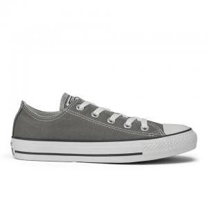Converse Unisex Chuck Taylor All Star OX Canvas Trainers - Charc