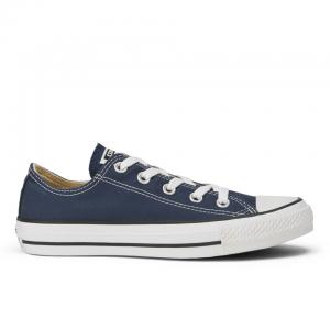 Converse Unisex Chuck Taylor All Star OX Canvas Trainers - Navy