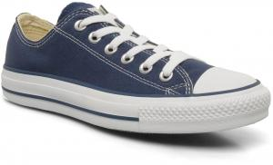 Donkerblauwe Sneakers Converse Chuck Taylor AS OX