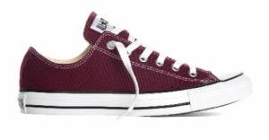 Converse All Stars Laag Bordeaux Rood Mt 35 T/m 46
