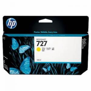 Inkcartridge HP B3P21A 727 Geel HC
