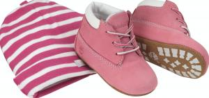 Timberland Baby Boots 9680R Roze-17 Maat 17