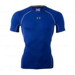Under Armour UA HG ARMOUR SS - Sportshirt Royal Heren Maat L