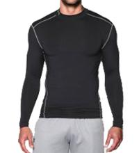 Herenmock Under Armour ColdGear Compressie Shirt Lange Mouwen -