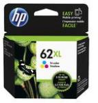 Inkcartridge HP C2P07AE 62XL Kleur HC