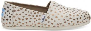 TOMS Ros Gestippelde Classics Voor Dames Slip-On Shoes - Size 37