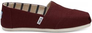TOMS Kersenrode Dames Classics Slip-On Shoes - Size 42
