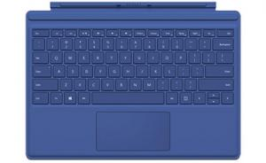 Microsoft Surface Pro 4 Type Cover - Blauw