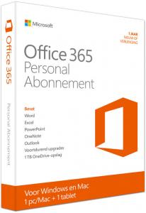 Microsoft Office 365 Personal - Nederlands (0889842085211)
