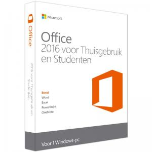 Microsoft Office 2016 Home And Student NL