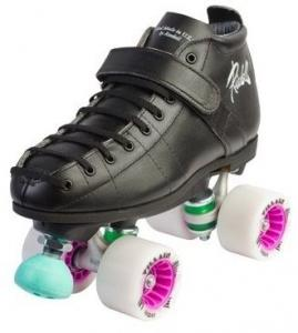 She Devil Black - Derby Roller Skates