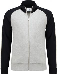 Belgian Company Heren Sweatervest 12705 6381 Heather Grey