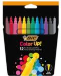 Bic Viltstiften Color Up Kartonnen Etui Met 12 Stuks In Geassort