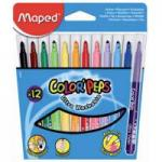 Maped Viltstift Color 12 Stiften In Een Kartonnen Etui