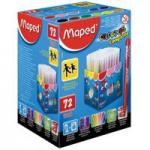 Maped Viltstift Color 72 Stiften In Een Kartonnen Doos Classpack