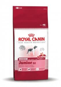 Royal Canin Medium Junior 4Kg (3182550708180)