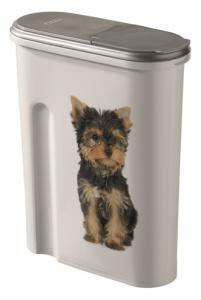 Curver Voedselcontainer Opdruk Hond Wit/zilver